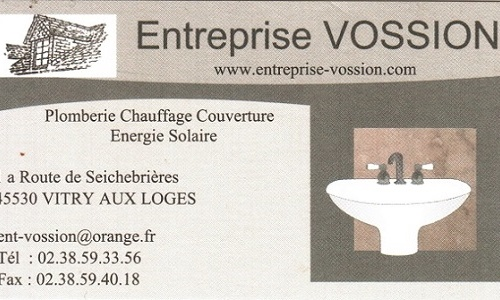 VOSSION ENTREPRISE PLOMBERIE