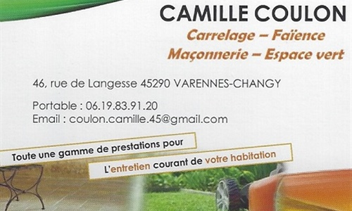 CAMILLE COULON