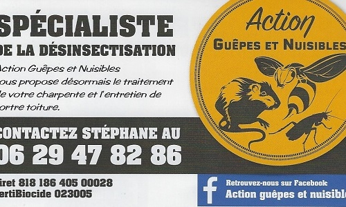 ACTION GUEPES ET NUISIBLES